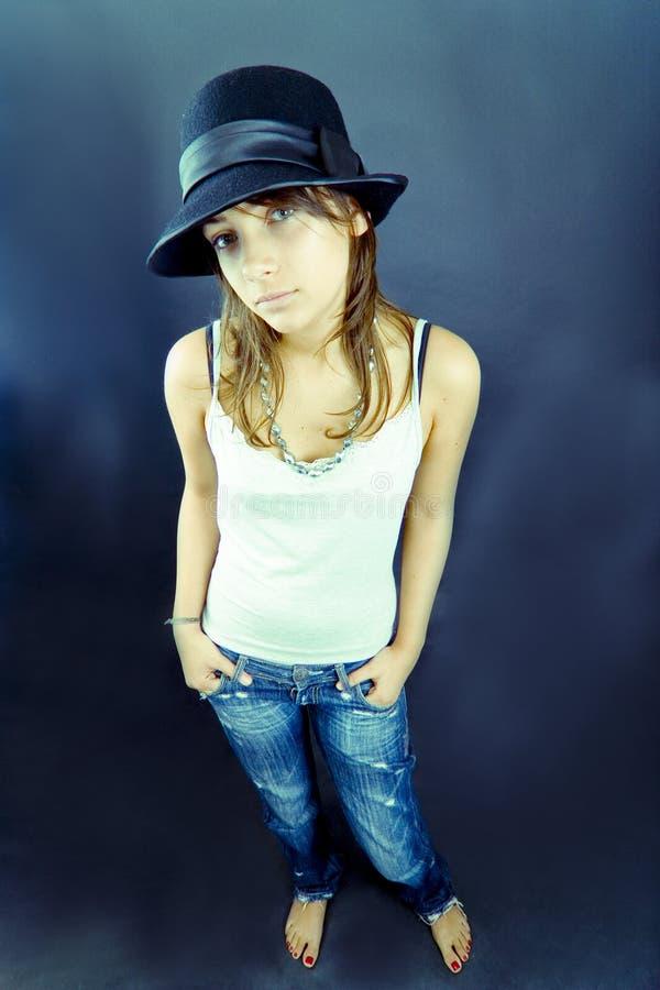 Modello teenager fotografie stock libere da diritti