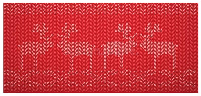 Modello tessuto scandinavo royalty illustrazione gratis