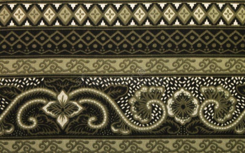 Modello tradizionale del batik fotografie stock libere da diritti