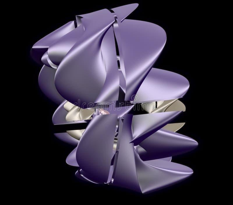 Modello, trafori, struttura del tessuto illustrazione di stock