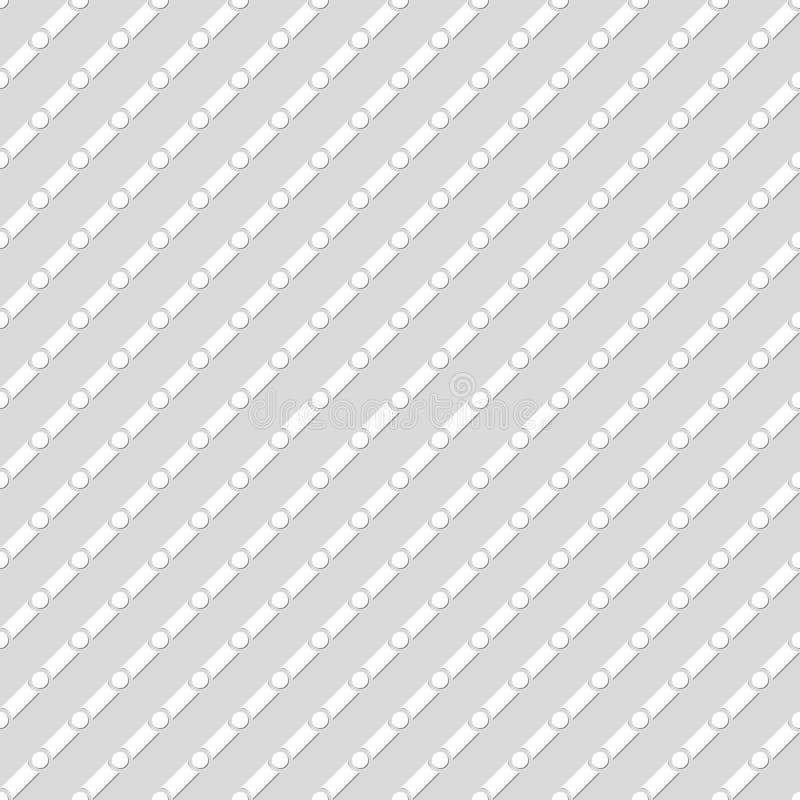 Modello tratteggiato senza cuciture Priorità bassa geometrica illustrazione vettoriale