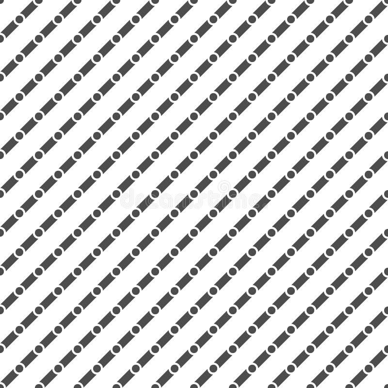 Modello tratteggiato senza cuciture Priorità bassa geometrica illustrazione di stock
