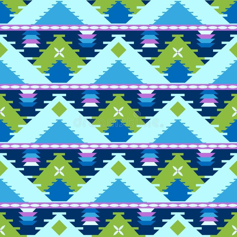 Modello tribale geometrico illustrazione di stock