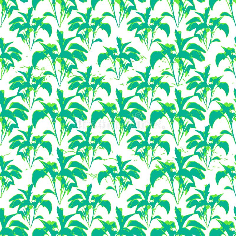 Modello tropicale della stampa royalty illustrazione gratis