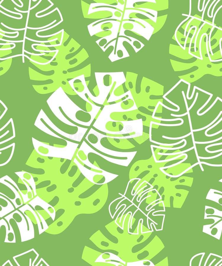 Modello tropicale floreale di estate Priorità bassa floreale immagini stock libere da diritti