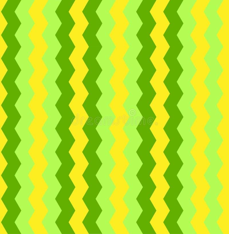 Modello variopinto senza cuciture del fondo di zigzag di vettore illustrazione vettoriale