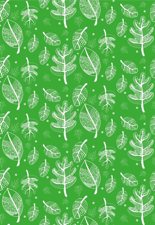 Modello verde illustrazione vettoriale