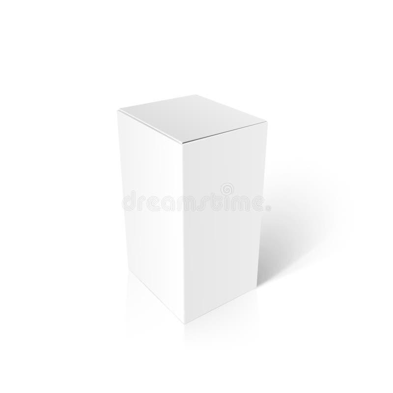 Modellpacke box-01 vektor illustrationer