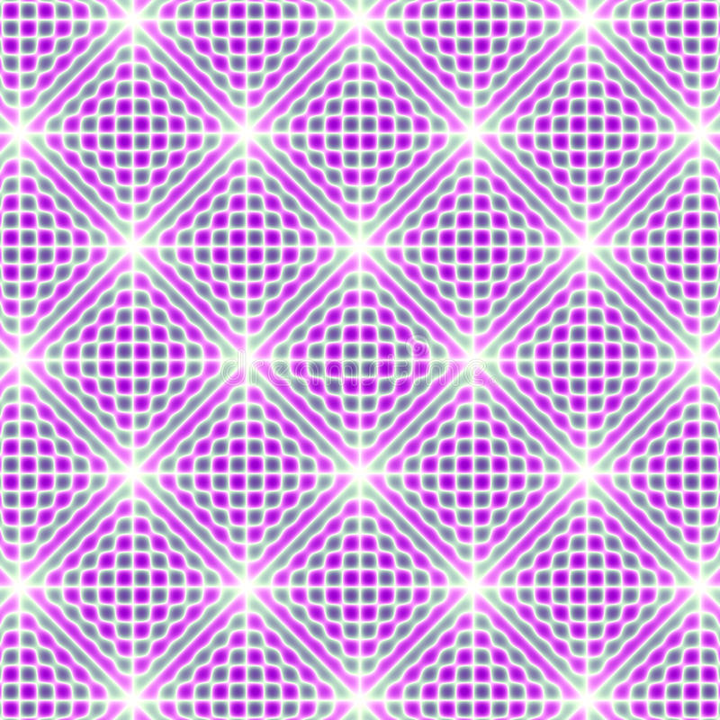 Modellrosa färger med dess blinkar vektor illustrationer