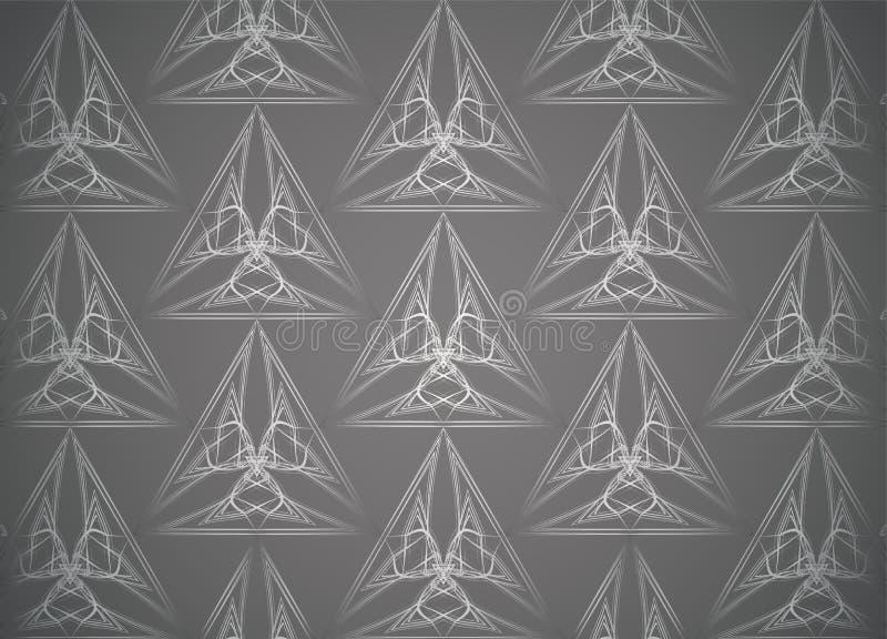 Modelltappningbakgrunder royaltyfri illustrationer