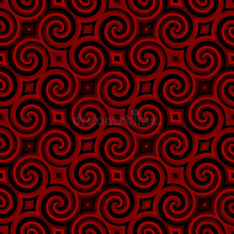 modelltappningwallpaper royaltyfri illustrationer