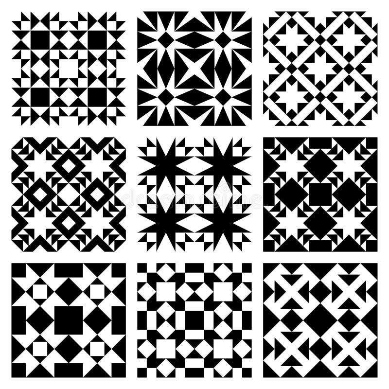 modelltegelplattavektor royaltyfri illustrationer