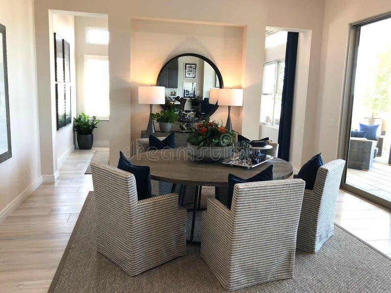 Modelluxury home interior royalty-vrije stock foto's