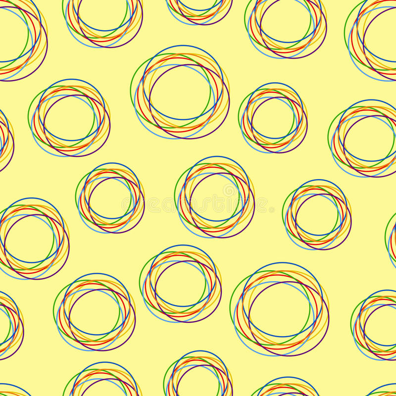 Modelo abstracto stock de ilustración