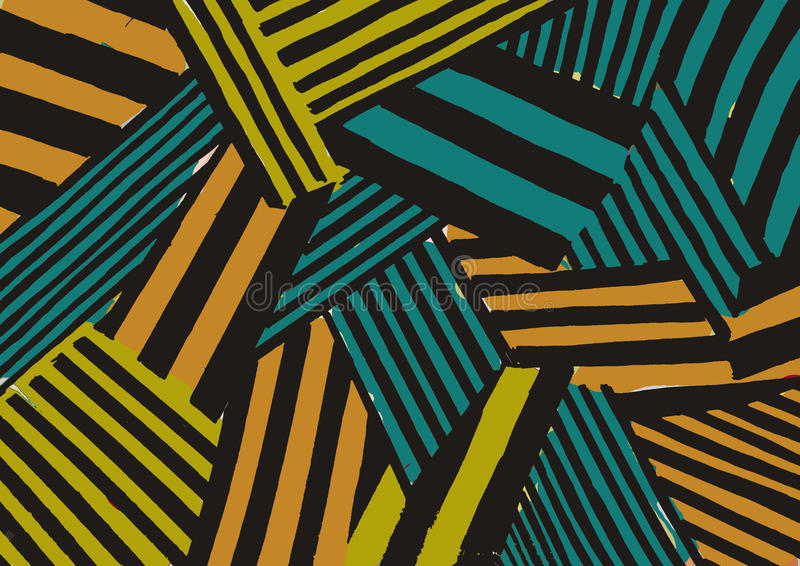 Modelo abstracto imagenes de archivo