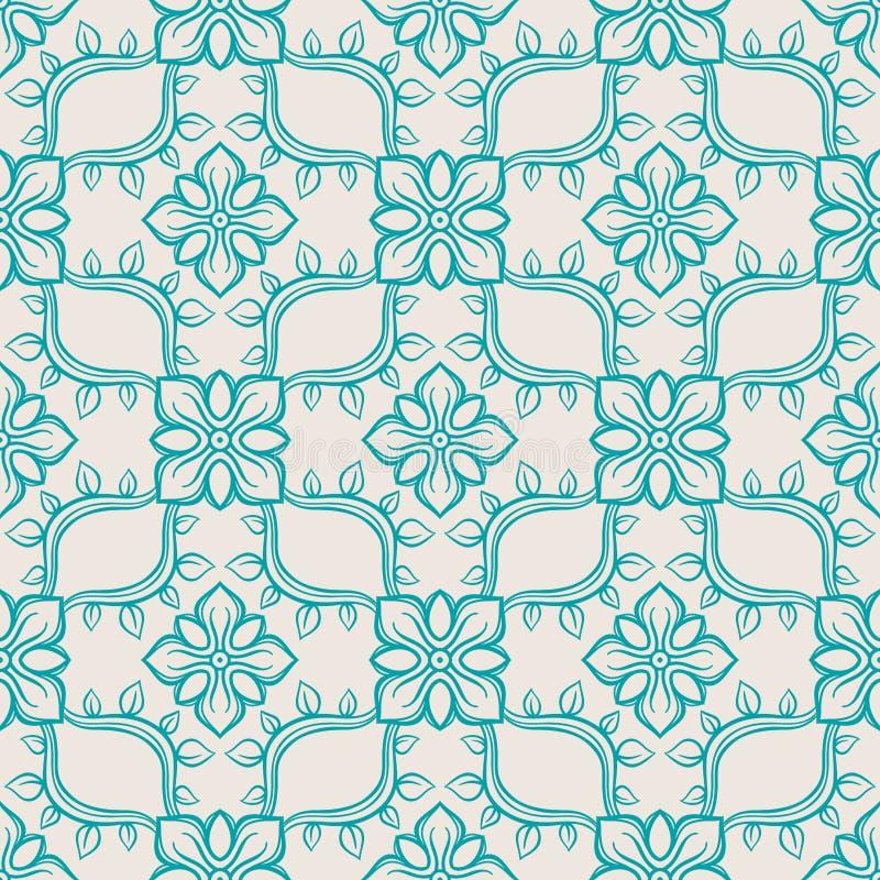 Modelo abstracto azul libre illustration