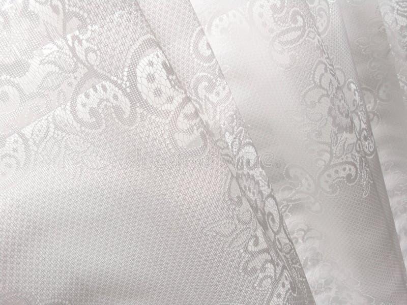 Modelo abstracto blanco de las persianas de ventana del cordón fotografía de archivo libre de regalías