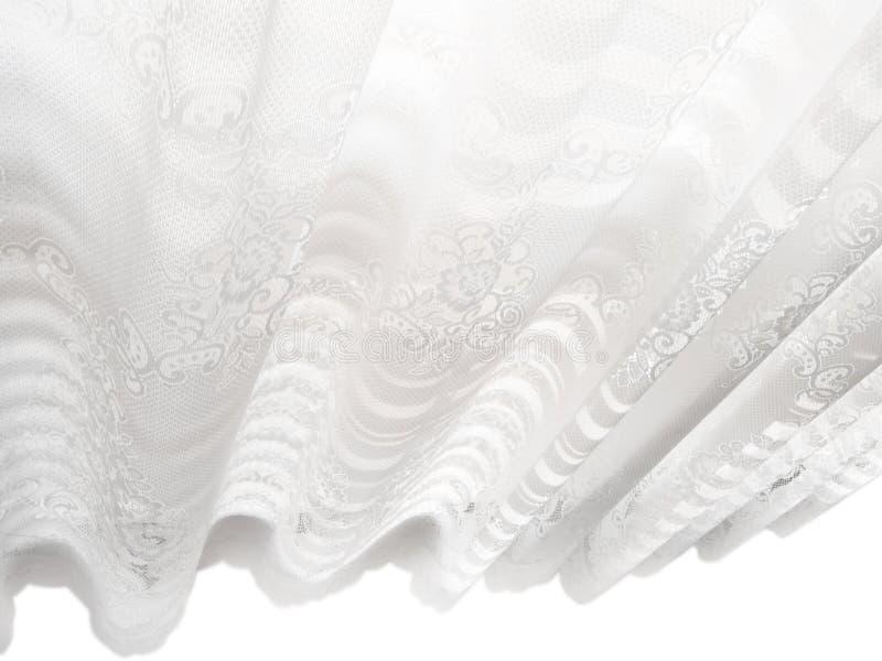 Modelo abstracto blanco de las persianas de ventana del cordón fotografía de archivo