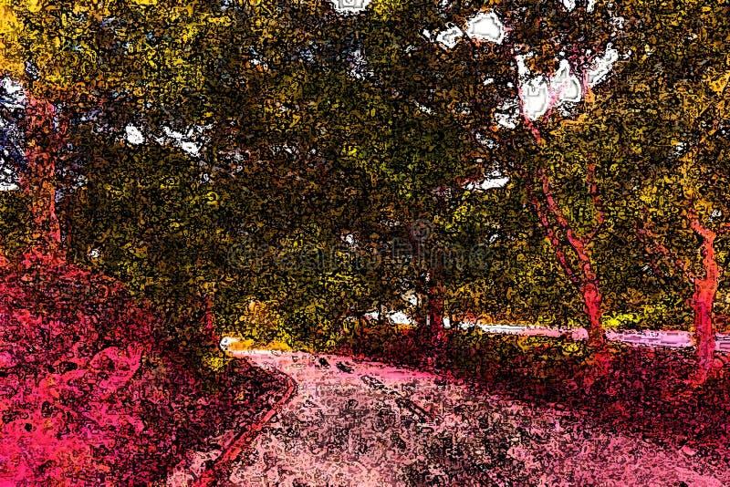 Modelo abstracto colorido de neón brillante creativo del fondo, textu stock de ilustración
