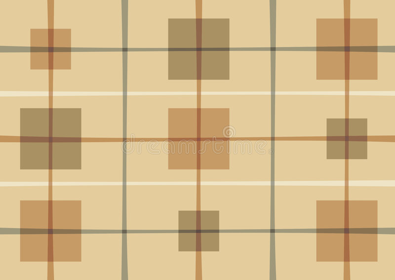Modelo abstracto con los cuadrados stock de ilustración