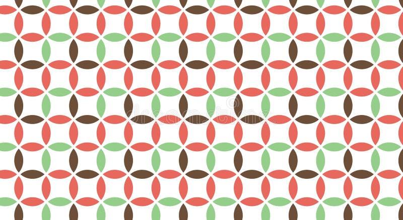 Modelo abstracto de formas multicoloras libre illustration