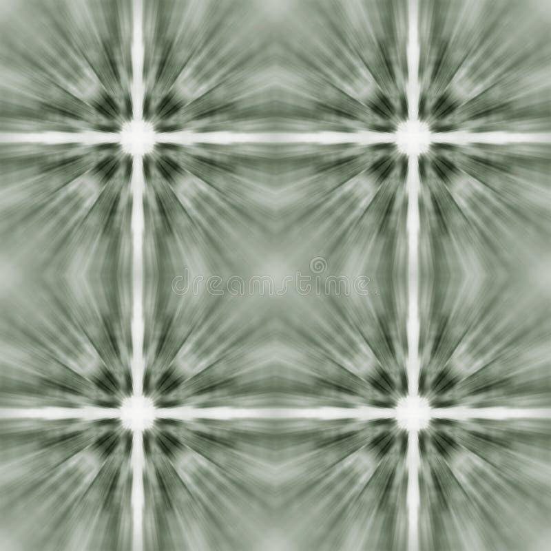 Modelo abstracto decorativo blanco y negro geométrico de la falta de definición libre illustration