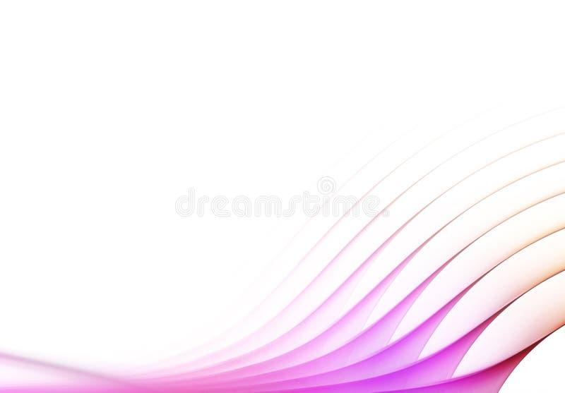 Modelo abstracto del humo stock de ilustración