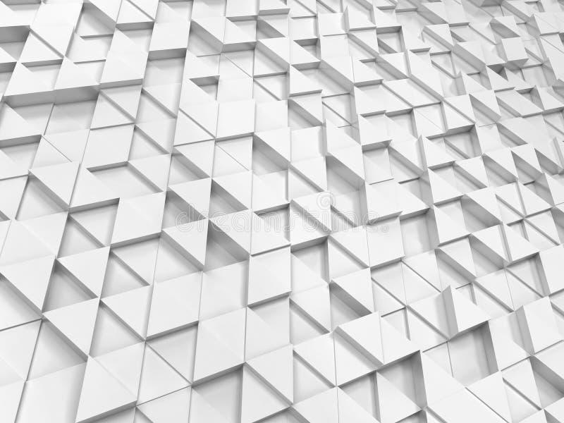 Modelo abstracto del triángulo stock de ilustración