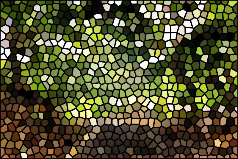 Modelo abstracto digital multicolor creativo del diseño del fondo libre illustration