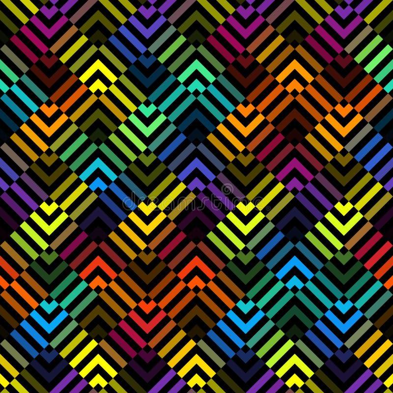 Modelo abstracto geométrico libre illustration