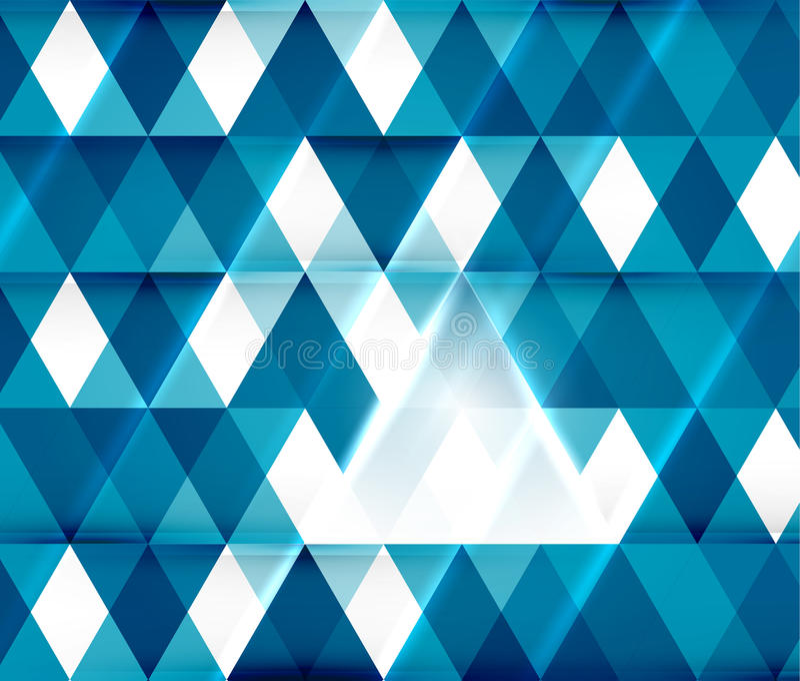 Modelo abstracto geométrico moderno del fondo libre illustration