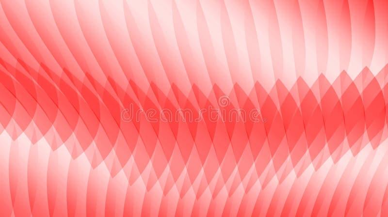 Modelo abstracto rojo del fondo ilustración del vector