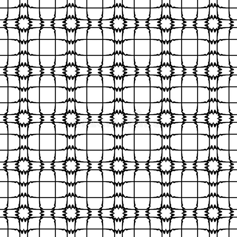 Modelo abstracto, textura blanco y negro retra imagen de archivo