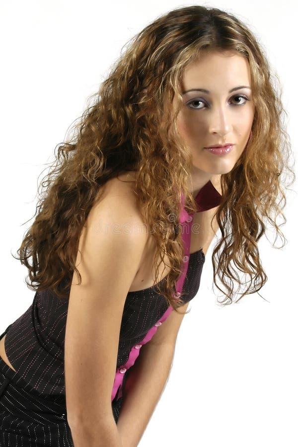 Modelo adolescente 3 imagem de stock