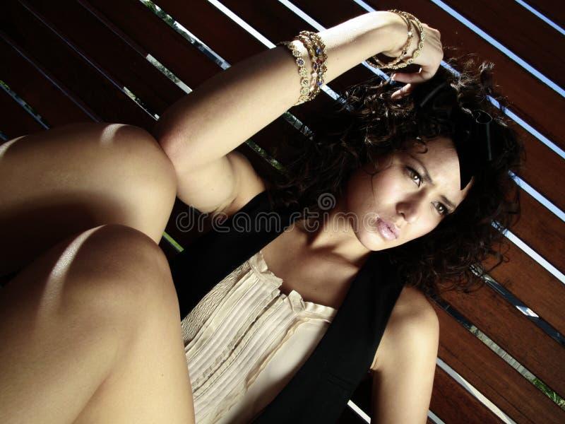 modelo adolescente fêmea imagens de stock