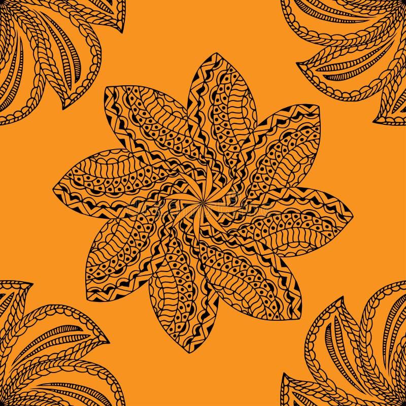Modelo amarillo inconsútil libre illustration