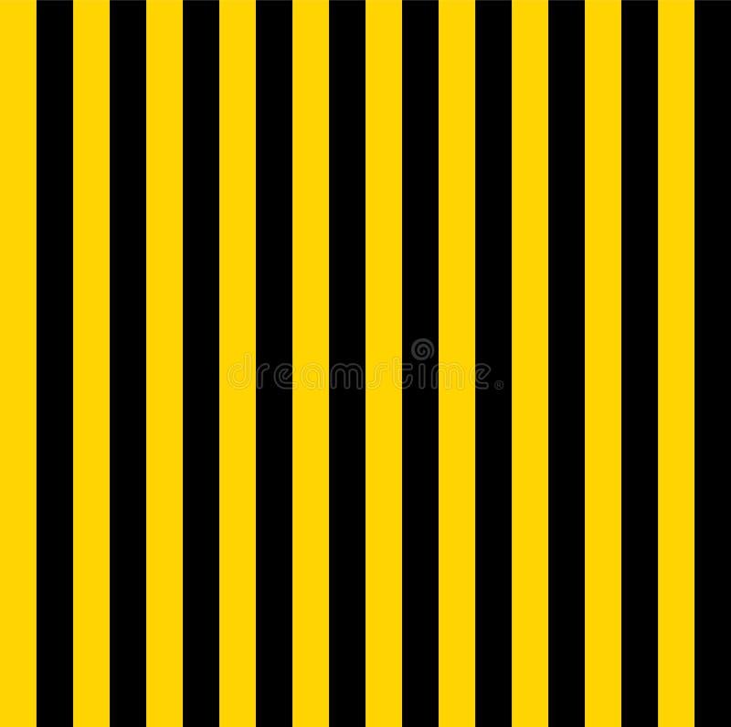 Modelo amarillo y blanco de las rayas para el fondo stock de ilustración