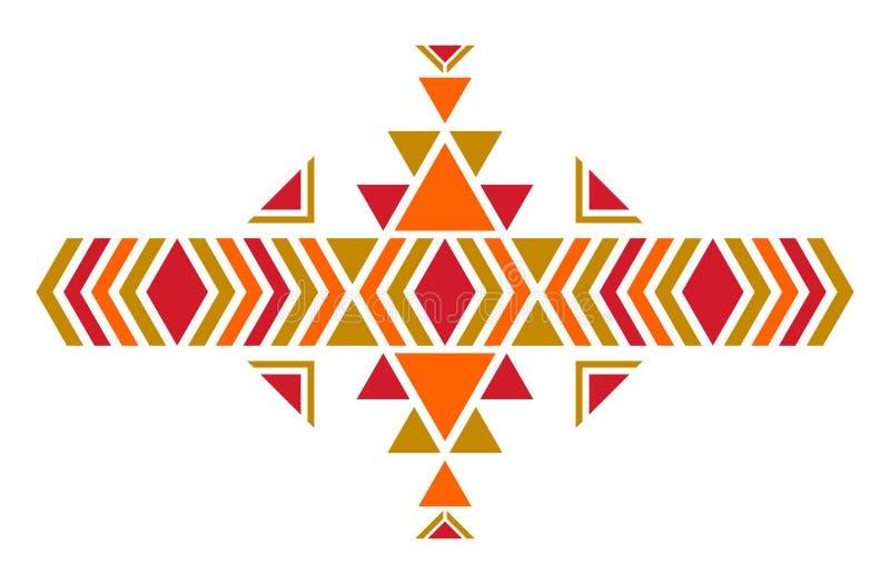 Modelo americano Ornamento inconsútil geométrico ilustración del vector