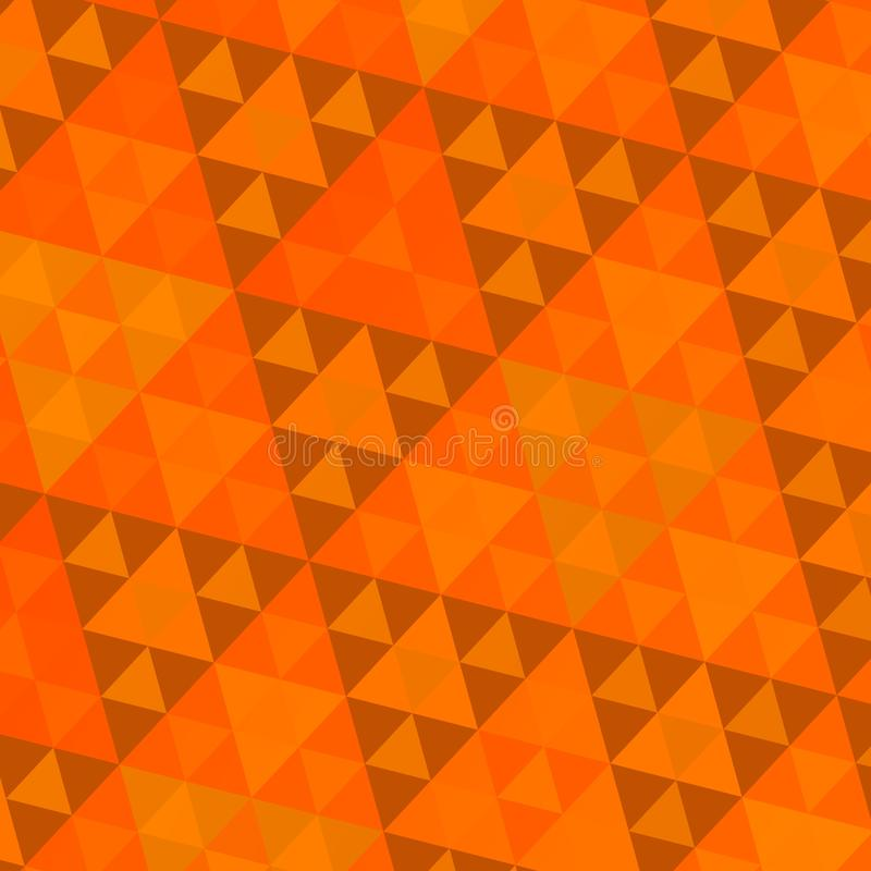 Modelo anaranjado de Sierpinski imagenes de archivo