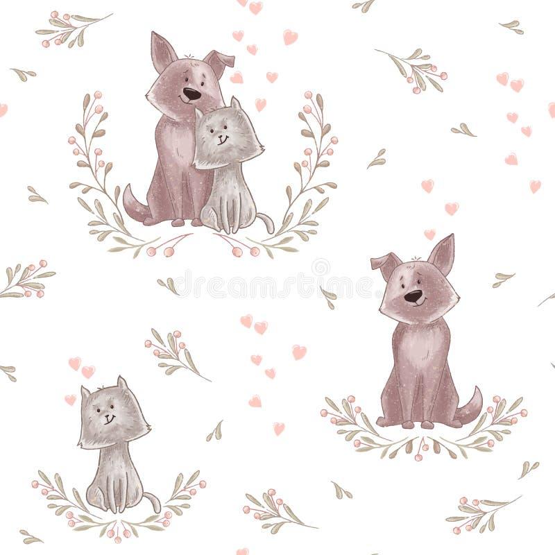 Modelo animal lindo stock de ilustración