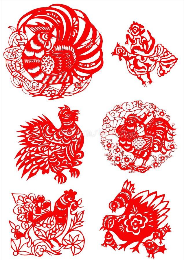 Modelo artístico tradicional stock de ilustración