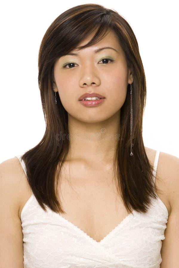 Modelo asiático 1 imagens de stock