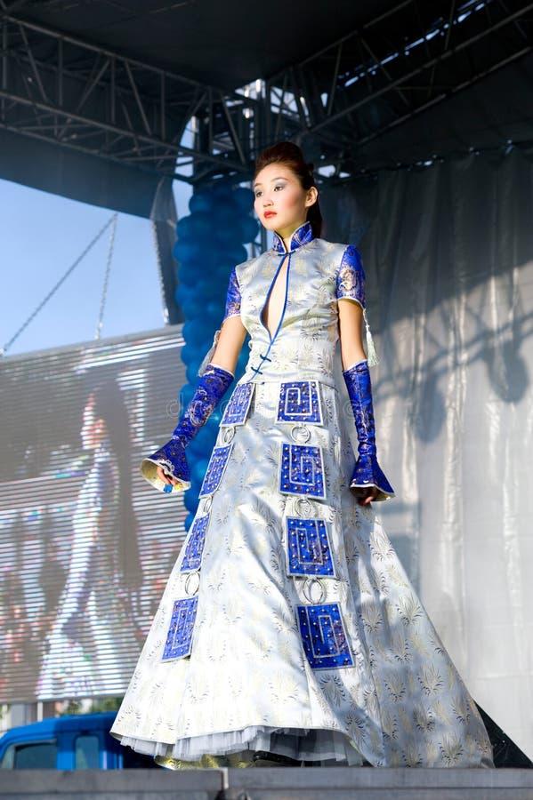 Modelo asiático imagem de stock royalty free
