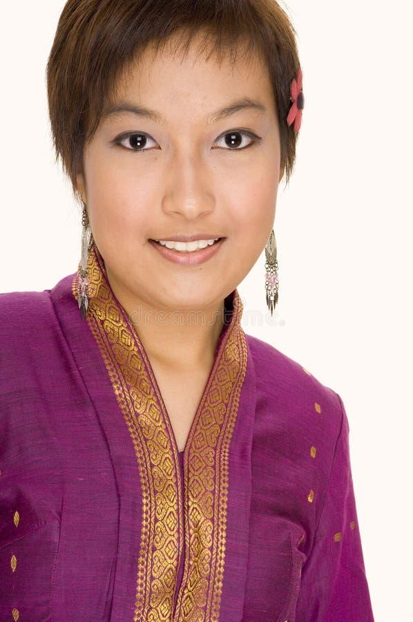 Modelo asiático 2 foto de archivo libre de regalías