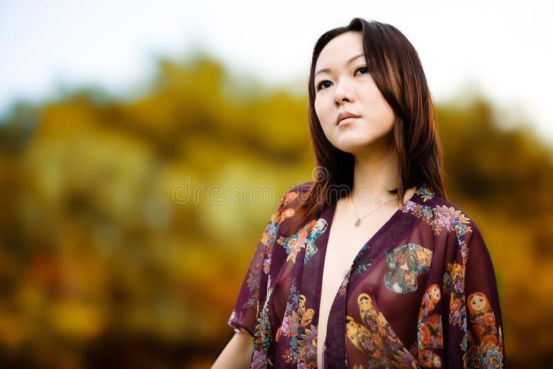 Modelo asiático foto de stock royalty free