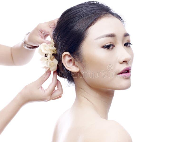 Modelo asiático novo fotos de stock