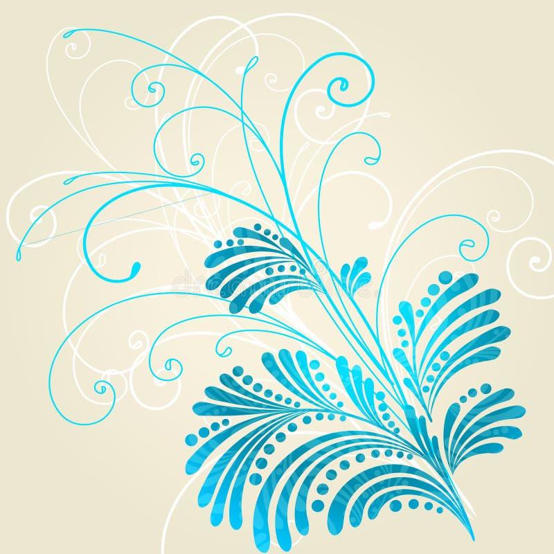 Modelo azul libre illustration