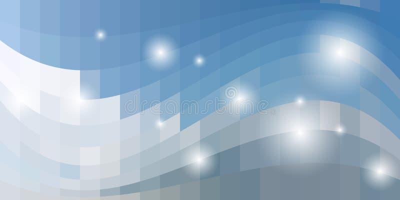 Modelo azul abstracto del cuadrado del fondo Vector EPS10 libre illustration