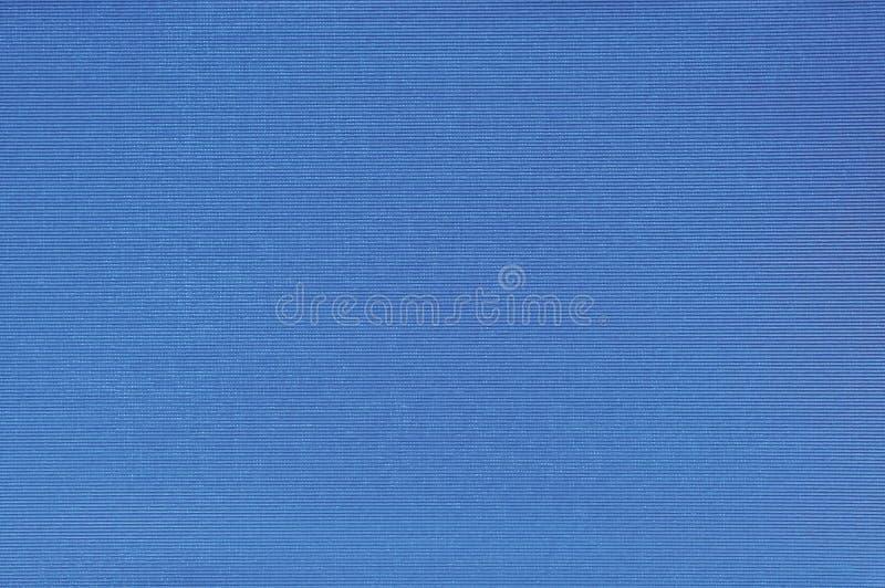 Modelo azul brillante natural de la textura del atascamiento de la cubierta de libro de paño de lino de la fibra, primer macro de fotografía de archivo libre de regalías