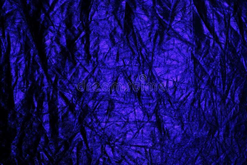 Modelo azul de neón foto de archivo libre de regalías